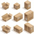 Cardboard boxes — Stock Vector #56862055