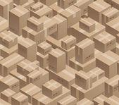 Warehouse — Stock Vector