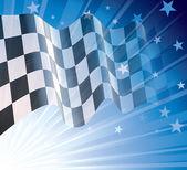 Checkered flag — Vetorial Stock