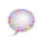 Speech bubble — Stock Vector
