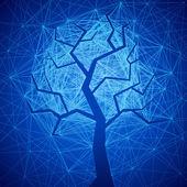 Mystic tree — Stock Vector
