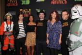 Star Wars Rebels Cast — Stock Photo