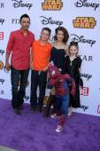 Michael Saucedo, son, Rebecca Herbst — Stock Photo
