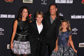 Gregory Nicotero and family — Stock Photo