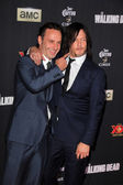 Andrew Lincoln, Norman Reedus — Stock Photo