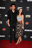 Nick Simmons and date — Stockfoto