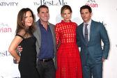 Denise Di Novi, Nicholas Sparks, Michelle Monaghan, James Marsden — Stock Photo
