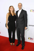Sasha Alexander, Edoardo Ponti — Stock Photo