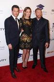 James Marsden, Michelle Monaghan, Ryan Kavanaugh — Stock Photo