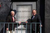 Mel Brooks, Jim Gianopulos — Stock Photo