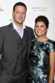 Brady Smith, Tiffani Thiessen — Stock Photo