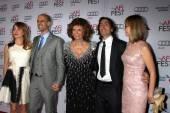 Sasha Alexander, Edoardo Ponti, Sophia Loren, Carlo Ponti, Andrea Meszaros Ponti — Zdjęcie stockowe