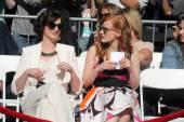 Anne Hathaway, Jessica Chastain — Stockfoto
