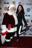 Natasha Blasick,  Santa — Stock Photo