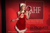 Maitland Ward Sexy Santa — Stock Photo