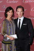 Sophie Hunter, Benedict Cumberbatch — Stock Photo
