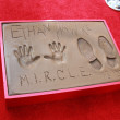 Ethan Hawke Hand and Foot Print — Stock Photo #61814385