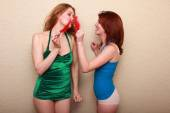 Maitland Ward and Elle Alexandra — Stock Photo
