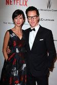 Sophie Hunter, Benedict Cumberbatch — Stock Photo