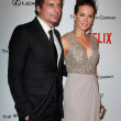 Постер, плакат: Len Wiseman and Kate Beckinsale