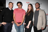 Phil Schwarz, Jemaine Clement, Rosette Pambakian, Josh Metz — Stock Photo