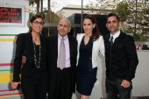 Julie Kasem, Mouner Kasem, Kerri Kasem, Mike Kasem — Stock Photo