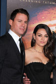 Channing Tatum, Mila Kunis — Stock Photo
