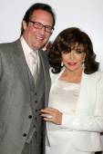 Percy Gibson, Joan Collins — Stock Photo