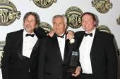Peter Flickenbery, Matthew Leonetti, Bobby Farrelly — Foto de Stock