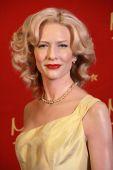 Cate Blanchett Wax Figure — Stok fotoğraf