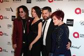 Ozzy Osbourne, Lisa Osbourne, Jack Osbourne, Sharon Osbourne — Stock Photo