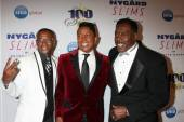 Tommy Davidson, Jermaine Jackson, Ernie Hudson — Stock Photo