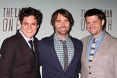 Phil Lord, Will Forte, Chris Miller — Stock Photo
