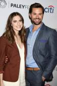 Allison Williams, Andrew Rannells — Stock Photo