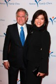 Les Moonves, Julie Chen — Foto de Stock