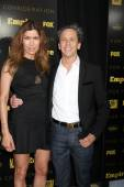 Veronica Smiley, Brian Grazer — Fotografia Stock