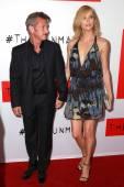 Sean Penn, Charlize Theron — Stock Photo