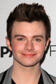 Chris Colfer — Fotografia Stock