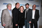 Stacy Keach, Chris Bauer, Kate Burton, Patrick Fugit, Terry O'Quinn — Stock Photo