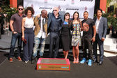 Vin Diesel with Furious 7 cast and crew — Stock Photo