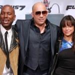 Tyrese Gibson, Vin Diesel, Michelle Rodriguez, Ludacris, Jordana Brewster — Stock Photo #69270063