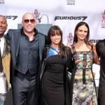 Tyrese Gibson, Vin Diesel, Michelle Rodriguez, Ludacris, Jordana Brewster — Stock Photo #69270077