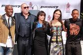 Tyrese Gibson, Vin Diesel, Michelle Rodriguez, Ludacris, Jordana Brewster — Stock Photo