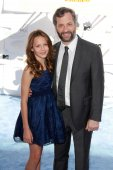 Iris Apatow, Judd Apatow — Photo