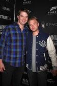 Brett Davern and brother — Stock Photo
