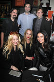 Bear McCreary, Joe Lynch, Steve Gainer, Jennifer Blanc-Biehn, Jenise Blanc, Gabby Wright — Stock Photo