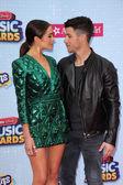 Olivia Culpo, Nick Jonas — Stock Photo