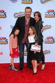 Benjamin King and family — Stock Photo