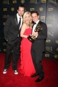 Scott Elrod, Jessica Collins, Christian LeBlanc — Stock Photo
