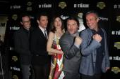 Jarrad Paul, James Marsden, Kathryn Hahn, Jack Black, Andrew Mogel — Stock Photo